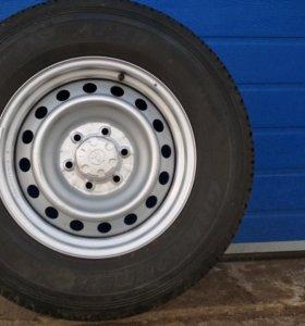 Оригинальные колеса от Прадо 150