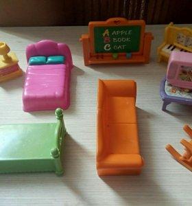 Мебель для маленьких кукол/зверюшек