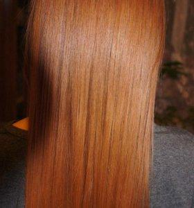 Кератиновое восстановление волос.