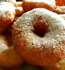 Вкусные домашние пироги, пончики, блины под заказ