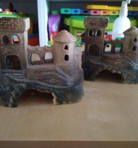 Замок для аквариума