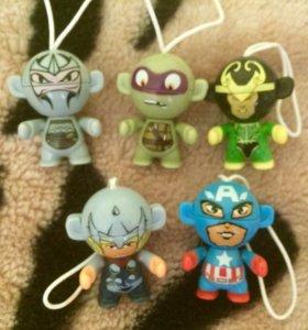 Киндеры Marvel