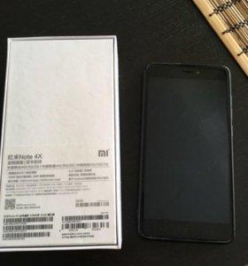 Продам телефон xiaomi redmi note 4x 3/32gb black