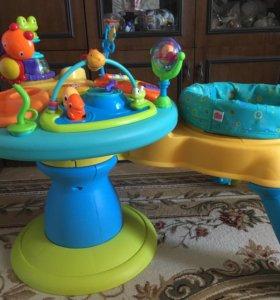 Игровой центр Развивающий столик Bright