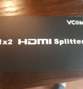 Разветвитель Vcom hdmi Splitter 1x2