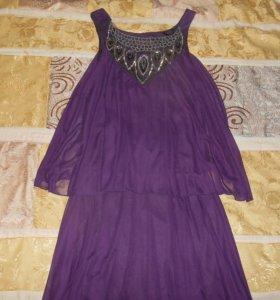 Платье вечернее р.44-46.