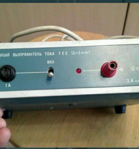 Стабелизированный выпрямитель 12вольт,3ампера.