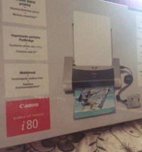 Принтер-Canon i80.