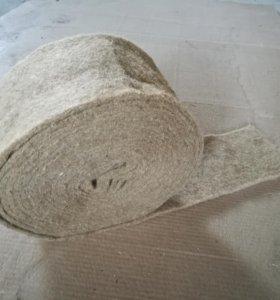 Лен-Джут лента 10м х 150мм (8-10мм)