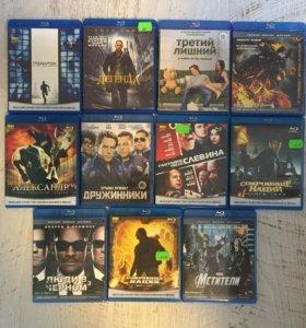 Blu-ray диски в ассортименте