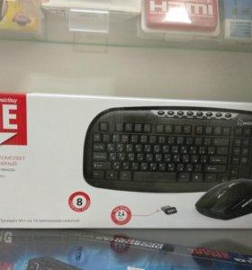Беспроводной комплект клавиатура + мышь