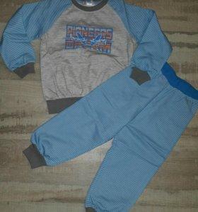 Новый!Трикотажный костюм/пижама