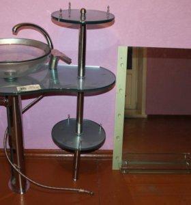 Раковина и зеркало Ledeme