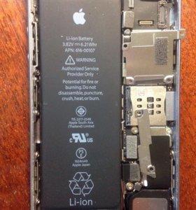 Оригинальный аккумулятор для iPhone SE