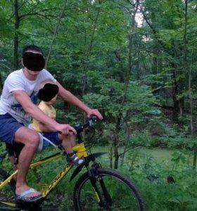 Детское сидения на велосипед