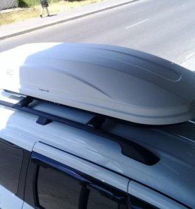Автобокс Магнум 420 карбонбелый