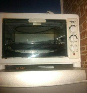 Электро духовка плюс функции грилль.