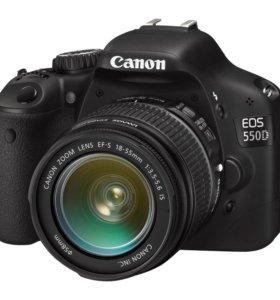 Canon 550d + объектив Зенит