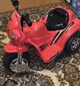 Мотоцикл детский аккумуляторный