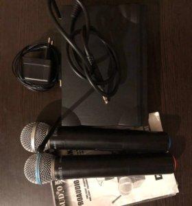 Микрофоны Proaudio dws-204нт/рт
