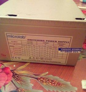 Продам блок питания Microlab M-ATX-350W
