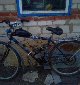 Вело мопед газулька