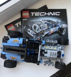 Lego technic Хотрод и двигатель к нему