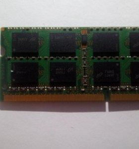 Оперативная память ддр3 2 Гб для ноутбука