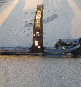 Порог левый Skoda Octavia A5 рестайлинг