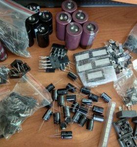 Продам Транзисторы,диоды,конденсаторы, микросхемы