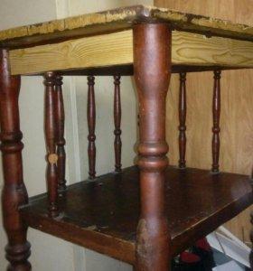 Антикварная этажерка