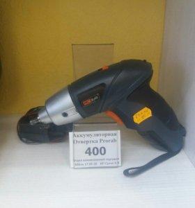 (арт.0686пк) Электро отвертка Prorab 1100b