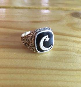 Серебряный мусульманский перстень 6.6 грамм.