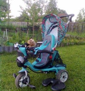Коляска - велосипед