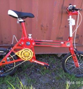 Складной подростковый велосипед