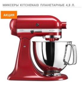 KITCHENAID ARTISAN 4.8Л., КРАСНЫЙ, 5KSM125EER