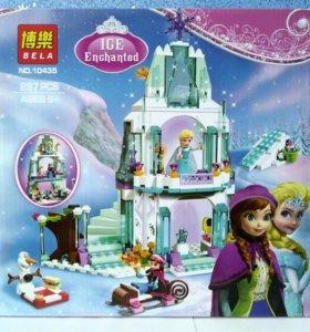 Лего Bela Princess Ледяной замок Эльзы 297 деталей