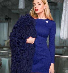 Фактурное платье, 46 размер