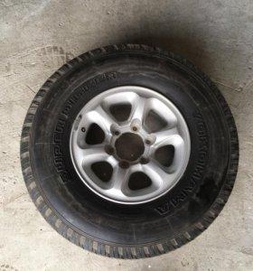 Запасное колесо Mitsubishi Pajero