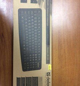 Клавиатура Defender черная