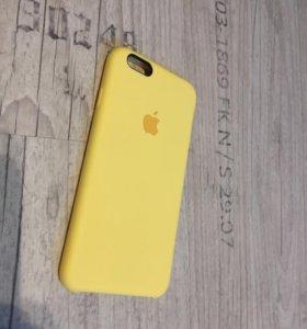 Кейс чехол для iPhone 6/6s люксовый замша