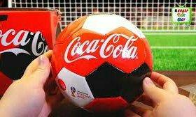 Мяч кока-кола