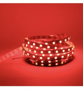 Светодиодная лента 5050 красная 5м