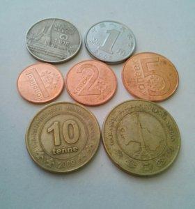 60 Монет СССР, РФ, зарубжных государств