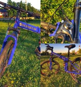 Велосипед складной PORSCHE