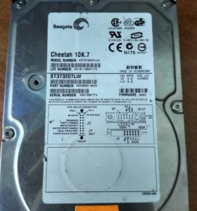 Серверный HDD Seagete cheetah 10K.7