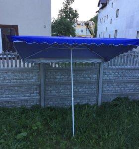 Зонт торговый садовый