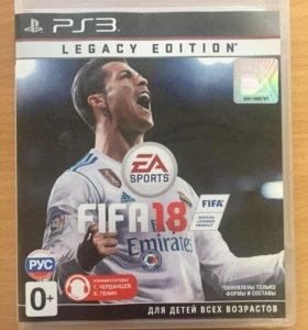 FIFA18 на PS3