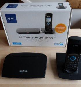 Dect-телефон для Skype ZyXel V352L EE