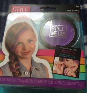 Фиолетовый мелок для волос